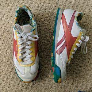 Reebok Vintage Inspired Retro Multicolor Sneakers